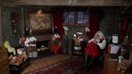Santa Claus Live from the North Pole Christmas Cam