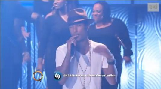 Happy by Pharrell Williams LIVE Performance