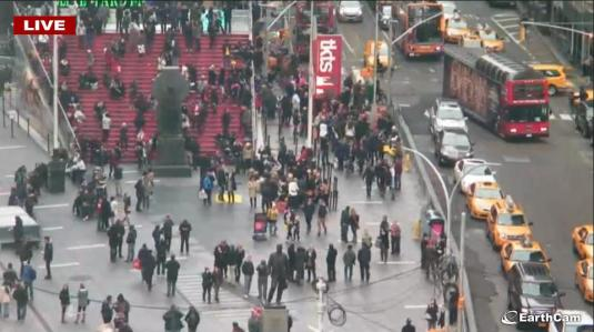Live Downtown Times Square Streaming Webcam New York City