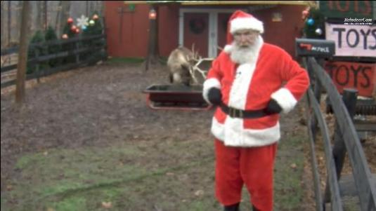 Santa Claus Official 2015 Live Reindeer Feeding Cam North Pole