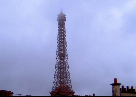 Eiffel Tower New Year Celebrations Webcam Paris