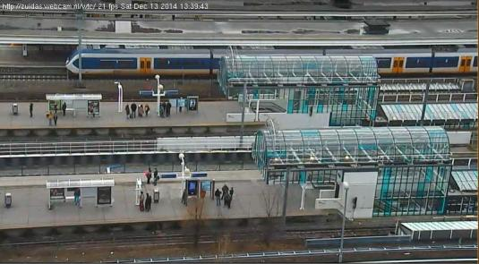Amsterdam Zuid Railway Station Traffic Weather Webcam Amsterdam