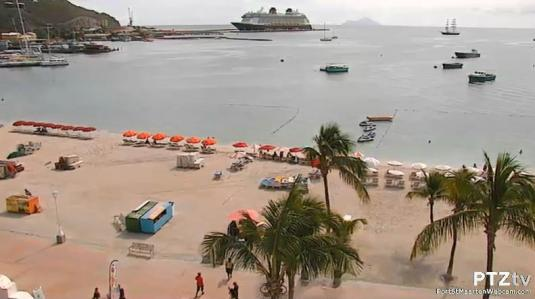 Saint Maarten Island Caribbean Holiday Weather Webcam Saint Martin Island  Caribbean