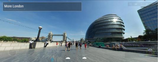 GLA London City Hall live Gigapixel 360 degree Panorama Camera View London