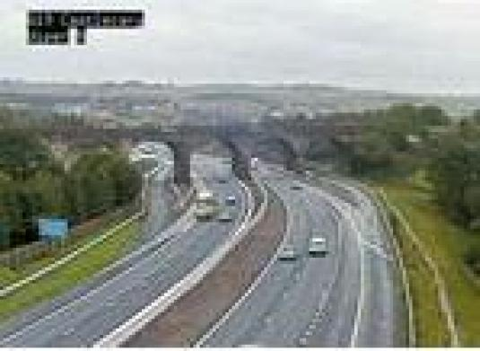 M80 Castlecary Motorway Traffic Weather Web Cam Cumbernauld North Lanarkshire