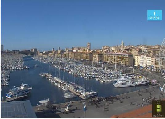 Marseille Old Port of Marseille Weather Webcam France