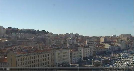 Vieux-Port Live City of Marseille Panorama Weather Cam France