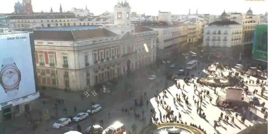 Puerta del Sol Gate of the Sun City Square Weather Cam ...