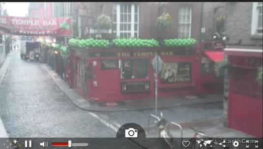Dublin Live Temple Bar Streaming Cam Dublin Ireland