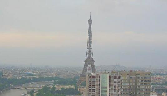 Live Paris Eiffel Tower City Centre Weather Web Cam Paris France