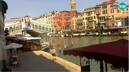 live streaming rialto bridge grand canal webcam city of venice northern italy. Black Bedroom Furniture Sets. Home Design Ideas