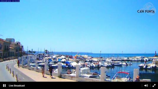 El Molinar Promenade Beach Resort Weather Web Cam Palma Island of Mallorca