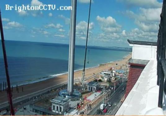 British Airways i360 Observation Tower Web Cam Brighton West Pier Brighton