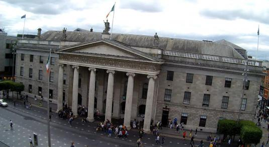 General Post Office Dublin Live OConnell Street Streaming Cam Dublin Ireland