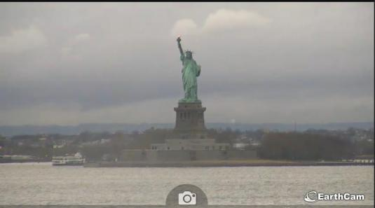 Statue of Liberty Streaming Webcam Liberty Island New York Harbour New York
