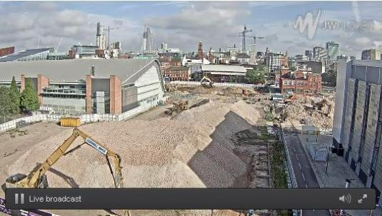 Manchester Engineering Campus Development Construction Cam City of Manchester England