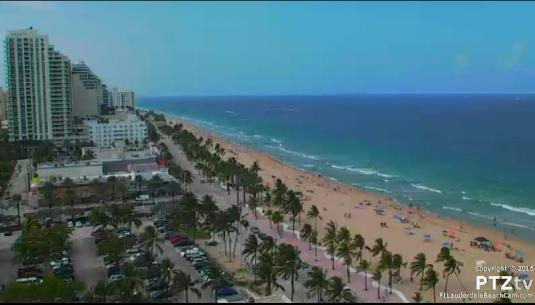Ft. Lauderdale Live Streaming Beach Vacation Weather Cam South Florida