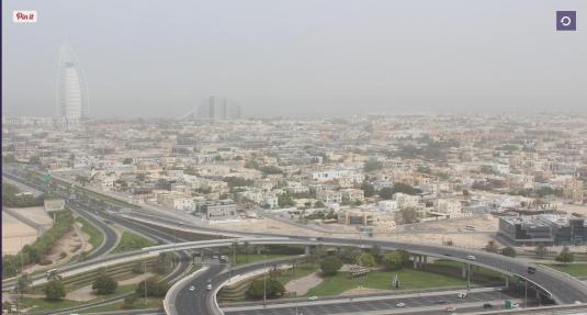 Dubai City Panorama Weather Webcam Dubail United Arab Emirates