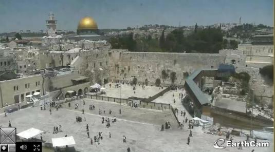 Western Wall Live Streaming Wailing Wall Cam Old City of Jerusalem Israel