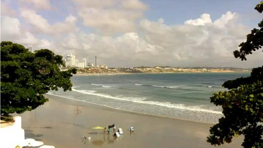 Ponta Negra Holiday Beach Weather Web Cam Natal Brazil