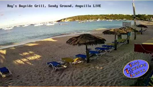 Sandy Ground Live Beach Weather Web Cam Island of Anguilla Caribbean