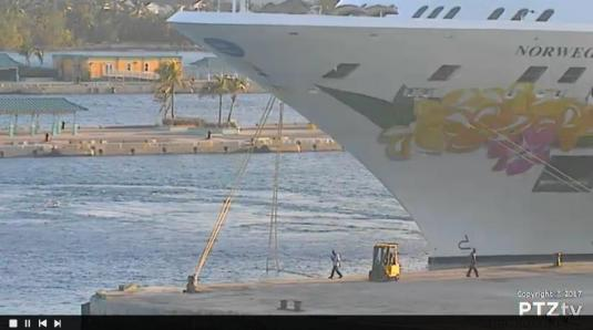 Port Nassau Live Cruise Ships Port Weather Web Cam Bahamas