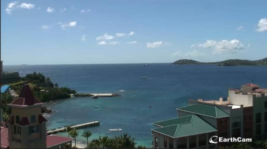 Frenchmans Cove Live Pacquereau Bay Weather Web Cam St Thomas Island US Virgin Islands