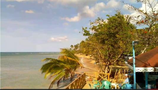 Las Terrenas Live Punta Popi Beach Weather Web Cam Dominican Republic Caribbean