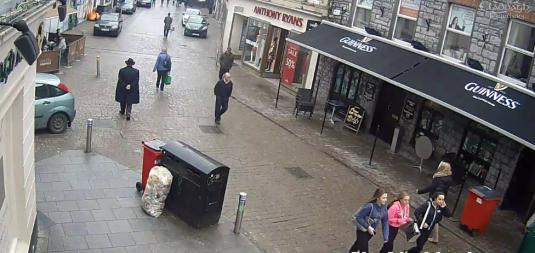 Galway City People Watching St Patricks Day Web Cam Galway Ireland