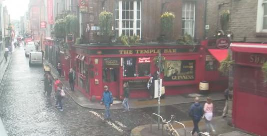 Dublin Live St Paddy Day Temple Bar People Watching Cam Dublin Ireland