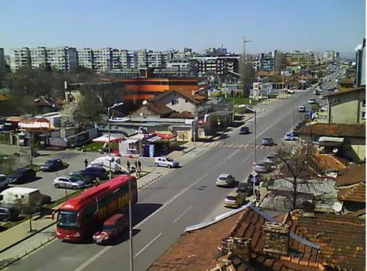 Sofia City Centre Traffic Weather Cam City of Sofia Bulgaria