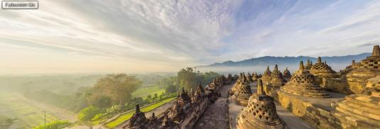 Borobudur Temple 360 Panorama Cam Views Indonesia