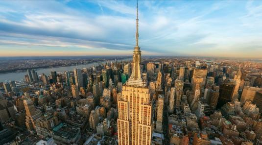 Empire State Building NYC Live 360 Degree Panorama Cam Views New York City