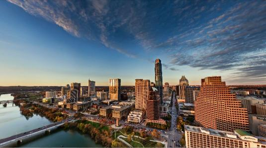 Downtown Austin City Live 360 Degree Panorama Cam Views Texas