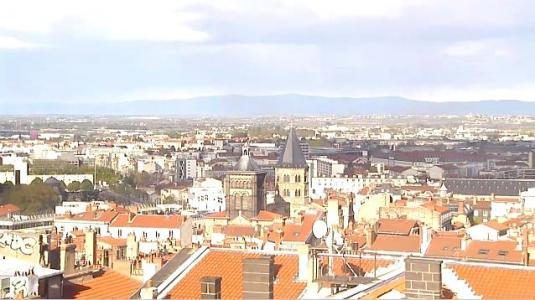 City of Clermont-Ferrand Live Panorama HD Weather Webcam Central France
