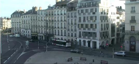 Bayonne City Live Place De La Liberte Square Weather Cam South West France