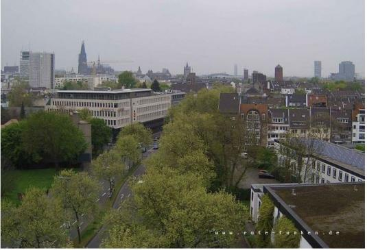 Cologne City Skyline Weather Webcam City of Cologne Germany
