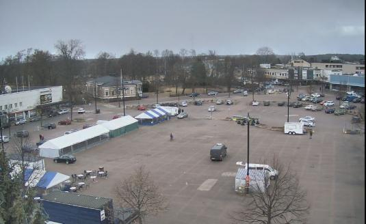 Hamina Market Town Square Weather Webcam Hamina South Finland