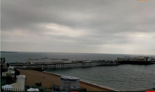 Brighton Palace Pier Weather Webcam Brighton South Coast of England