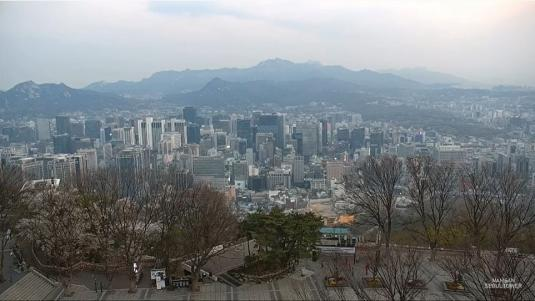 Seoul City Live Streaming Video Weather Web Cam City of Seoul South Korea